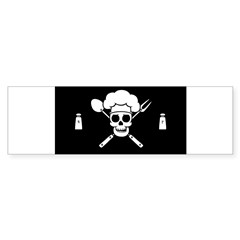 Chef Pirate Sticker (Bumper 10 pk)