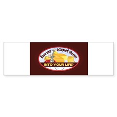 Accept Cheese Sticker (Bumper 10 pk)