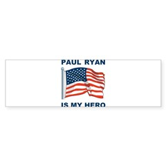 Paul Ryan is my Hero! Sticker (Bumper 10 pk)