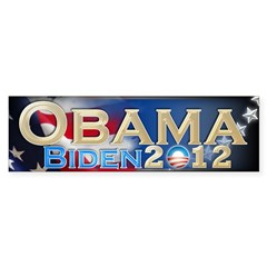 Obama Biden - Sticker (Bumper 10 pk)