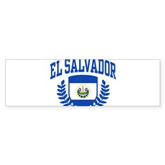 El Salvador Sticker (Bumper 10 pk)