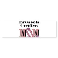 Brussels Griffon MOM Sticker (Bumper 10 pk)