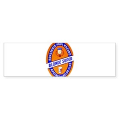 France Beer Label 9 Sticker (Bumper 10 pk)
