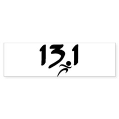 13.1 run Sticker (Bumper 10 pk)