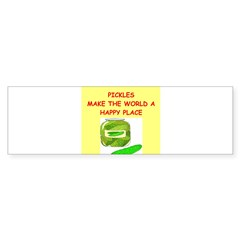 pickles Sticker (Bumper 10 pk)