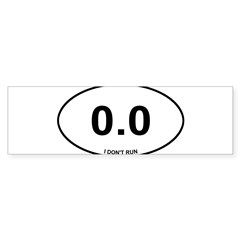 Non Runner Sticker (Bumper 10 pk)
