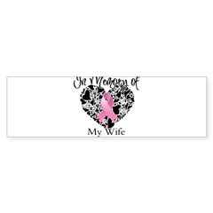 In Memory of My Wife Sticker (Bumper 10 pk)