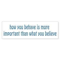Behave / Believe Sticker (Bumper 10 pk)