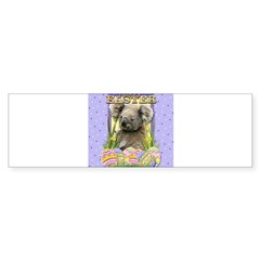 Easter Egg Cookies - Koala Sticker (Bumper 10 pk)