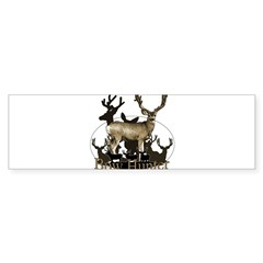 Bow hunter 4 Sticker (Bumper 10 pk)