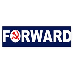 AmerikaForward Sticker (Bumper 10 pk)