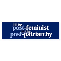 POST-FEMINIST Sticker (Bumper 10 pk)