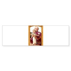 Saint Cheney Sticker for Votive Candle Sticker (Bumper 10 pk)