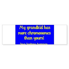 Grandkid Sticker (Rectangular) Sticker (Bumper 10 pk)