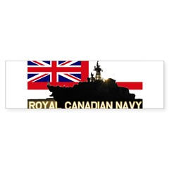 Royal Canadian Navy Rectangle Sticker (Bumper 10 pk)