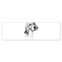 American Foxhound Sticker (Bumper 10 pk)