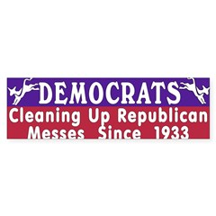 Democrats Sticker (Bumper 10 pk)