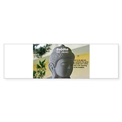 Eastern Philosophy: Buddha Rectangle Sticker (Bumper 10 pk)