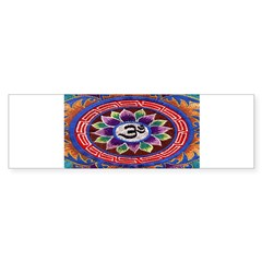 OM Tapestry Oval Sticker (Bumper 10 pk)