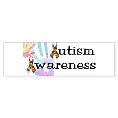 Autism Awareness Rectangle Sticker (Bumper 10 pk)
