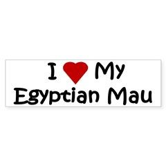Egyptian Mau Sticker (Bumper 10 pk)