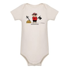 Pirate Boy 1 Organic Baby Bodysuit