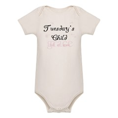 Tuesday's Child Kids Organic Baby Bodysuit