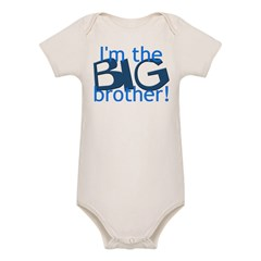 Big Brother Organic Baby Bodysuit