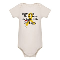 Keep Daddy Safe with Little Boy Organic Baby Bodysuit