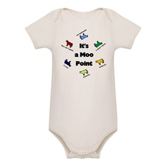 It's a Moo Point Organic Baby Bodysuit