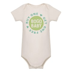 Twins Buy One, Get One Free 2 Organic Baby Bodysuit