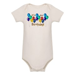 It's My Birthday Organic Baby Bodysuit