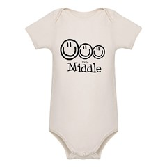The Middle (3) Organic Baby Bodysuit