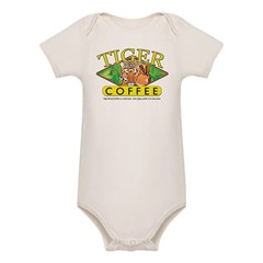 Tiger Brand Coffee Organic Baby Bodysuit