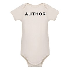 Author Organic Baby Bodysuit