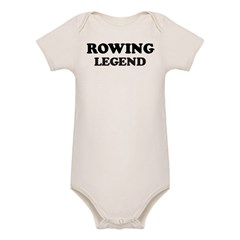 ROWING Legend Organic Baby Bodysuit