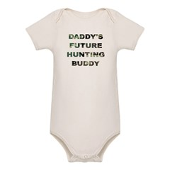 Future Hunting buddy Organic Baby Bodysuit
