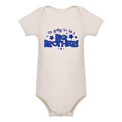 I'm Going to Be a Big Brother Organic Baby Bodysuit