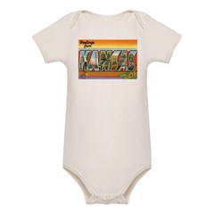 Greetings from Kansas Organic Baby Bodysuit