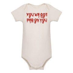 red on you.jpg Organic Baby Bodysuit