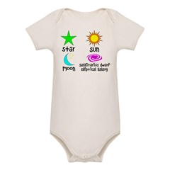Astronomy for Smart Babies Organic Baby Bodysuit