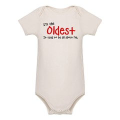 I'm the oldes Organic Baby Bodysuit