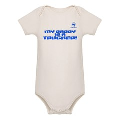 My Daddy is a Trucker! Organic Baby Bodysuit