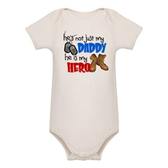 He's not just my Daddy, He is Organic Baby Bodysuit