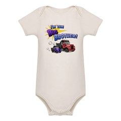 I'm the Big Brother! Organic Baby Bodysuit