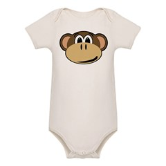 normal_monkey Organic Baby Bodysuit