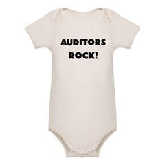Auditors ROCK Organic Baby Bodysuit
