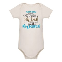 Big Deal Ring Bearer Organic Baby Bodysuit