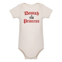 Danish Princess Organic Baby Bodysuit