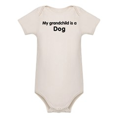 Dog grandchild Organic Baby Bodysuit